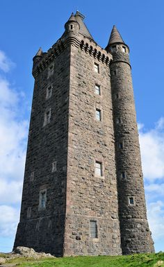 #Scrabo Tower is west of #Newtownards in County Down, Northern #Ireland
