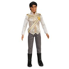 """AmazonSmile: Disney Store Tangled Ever After 12"""" Flynn Rider Wedding Groom Doll: Toys & Games"""