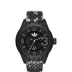 adidas originals Watches Newburgh Three Hand Leather Watch