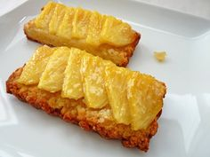 Pineapple Ginger Slices