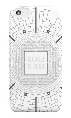 """""""The Maze Runner Layout"""" iPhone Cases & Skins by mcalla21 