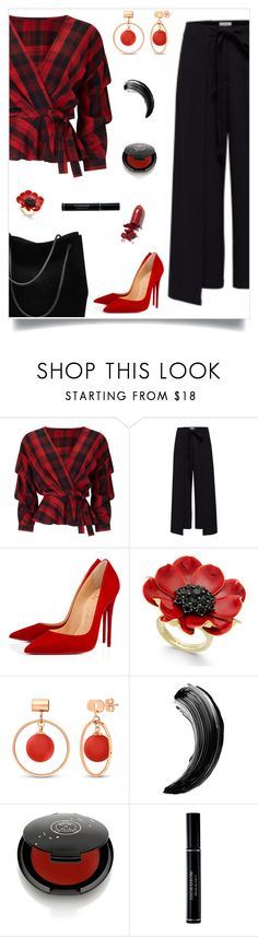 """Louboutin"" by tina-pieterse ❤ liked on Polyvore featuring Miss Selfridge, Noted*, Christian Louboutin, Kate Spade, BERRICLE, Rituel de Fille, Christian Dior and LAQA & Co."