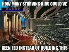 """I have never been impressed with such """"mega-churches"""" anyway!  You don't need the glamor and glitz to live God's words and teachings!"""