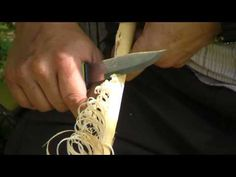 Making a Feather Stick - Bushcraft Basics