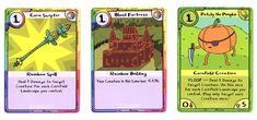Adventure Time Card Wars Corn cards