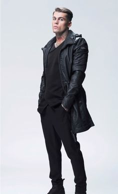 Hot Bad Boy, Bad Boys, Leather Fashion, Leather Men, Leather Jacket, Stephen James Model, Black Families, Wattpad, Fall Winter 2015