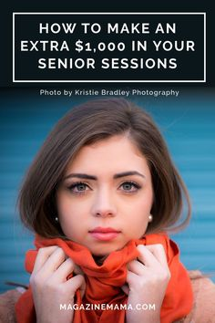 Want to make an extra $1k in your senior sessions? Then read this! http://www.magazinemama.com/blogs/editors-blog/27229316-how-to-make-an-extra-1-000-in-your-senior-photo-sessions