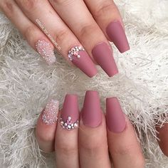 Matte and crystal pixie✨✨✨