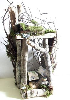 Woodland Garden Fairy Houses on Behance