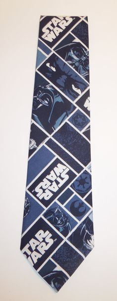 Star Wars Character Inspired Neck Tie in Blue and by CosplayMommas