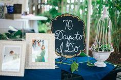 Bridal shower sign countdown | Jill Gearhart Photography Picnic Bridal Showers, Bridal Shower Signs, Al Fresco Dining, Summer Picnic, Back Gardens, Bridesmaid, Rustic, Rose, Party