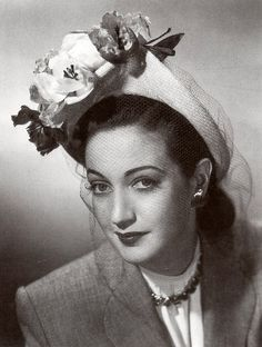 Famous Milliners | Dorothy Lamour | famous milliners: Lilly Dache