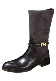 HAMILTON - Boots - asphalt/black