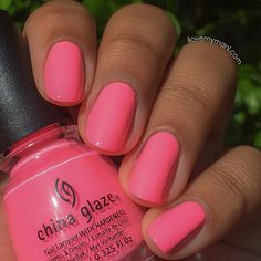 China Glaze Shocking Pink