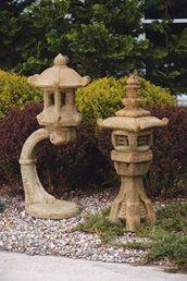 Oriental Garden Statues