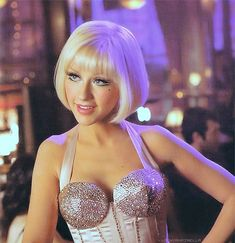Aguilera & Burlesque movie Scene.. going as her for halloween! Matching that make-up is gonna be a bitchhhhh