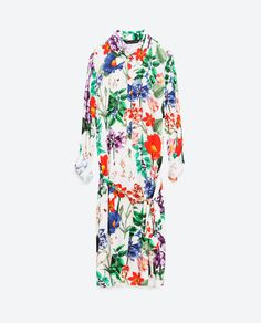 Image 8 of PRINTED TUNIC from Zara