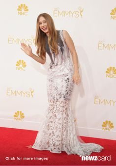 Actress Taissa Farmiga attends the 66th Annual Primetime Emmy Awards held at Nokia Theatre L.A. Live on August 25, 2014 in Los Angeles, California. (Photo by Jeff Vespa/WireImage) -- Access, discover and share millions of images at *newzcard.com.