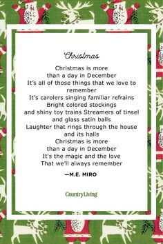 Christmas Poems for Kids They'll Want to Read All Season Long