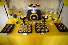 Pszczółkowe Urodziny / Bee Party Bee Birthday Cake, Bee Party, Sweet, Ideas, Candy, Thoughts