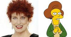 """Marcia Wallace, Edna Krabappel en """"Los Simpson"""", fallece de cáncer"""