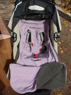 Stroller or Car Seat Cover Bundle Bag PDF Sewing Pattern | YouCanMakeThis.com