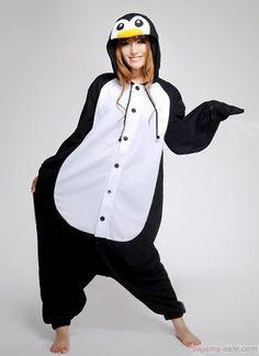 Adult onesies Emperor Penguin Kigurumi animal onesies