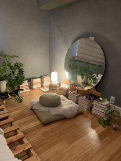 Room Ideas Bedroom, Home Bedroom, Bedroom Decor, Bedrooms, Home Room Design, Dream Home Design, Home Interior Design, Aesthetic Room Decor, Minimalist Bedroom
