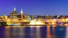 Night view of Malta's capital city #Valletta. Have a good #weekend everyone!   Reminder to enter our #Giveaway and win one of the three #gifts with @maltasouvenirs .. Check out Monday's post for more #information!  Featured Photographer: @joe.coombs  Tag your #photos with #MaltaPhotography to get a chance to be #featured on @maltaphotography - www.mpify.com  #Evening #capital #city #reflection #blue #sea #popular #love #picturesque #colours #island #Malta #Photography #instagramhub…