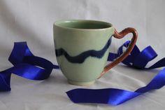 Keramik - LenzLyrik Harfentasse - ein Designerstück von DrehArt bei DaWanda
