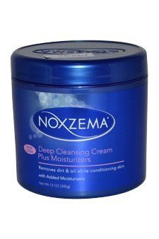 Noxzema Deep Cleansing Cream Plus Moisturizer Unisex, 12 Ounce by Noxzema. $4.79. 12 oz.. Moisturizer. Removes dirt & oil while conditioning skin. With added moisturizers. Deep Cleansing Cream Plus Moisturizers gives that trusted deep clean with added moisturizers to condition skin. Feel Noxzema working as it tingles and refreshes, leaving skin feeling soft and moisturized. Dermatologist tested. Made in the USA.