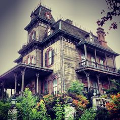 The Haunted Mansion in Disneyland Paris