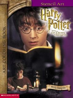 Harry Potter and the Chamber of Secrets: Art Coloring Book #3 (Harry Potter) @ niftywarehouse.com