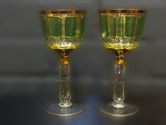 antieke wijnkelken
