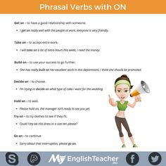Phrasal Verbs with ON