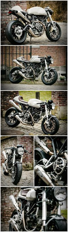 Awesome Ducati Sport Classic 1000!  http://www.pipeburn.com/home/2013/3/24/ducati-sport-classic-1000-the-flying-hermans-mc.html
