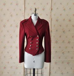 Vintage DKNY Military Jacket by MariesVintage on Etsy - Stylehive