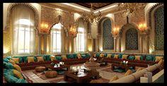 Moroccan majlis on Behance