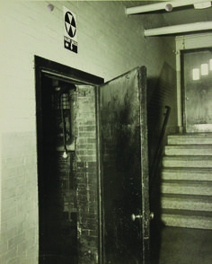 "During the Cold War, as the arms race between Soviet Russia and the United States escalated, the perceived threat of nuclear attack became increasingly heightened. Students were drilled in ""duck and cover"" practices at schools. And the only means of protection against radiation in the event of such a catastrophe was a fallout shelter."