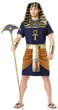 Pharaoh Adult Costume - Egyptian Costumes