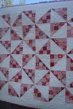 patchwork pinwheels!