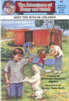 Meet the Boxcar Children (The Adventures of Benny and Watch Series #1) by Gertrude Chandler Warner. Find this and other books in the series under EE WAR.   Guided Reading Level - J
