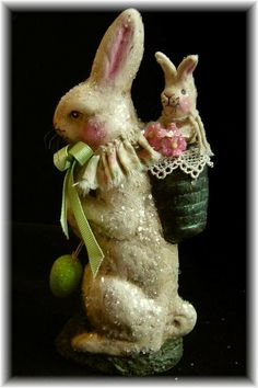 The Cottontail Collection by Nancy Malay.  Awesome artist with tons of bunnies and other Spring stuff!