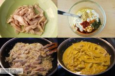 Pollo marinado con yogur picante