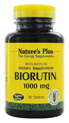 Biorutin 1000mg Nature's Plus 90 Tabs ** You can find more details by visiting the image link. (This is an Amazon Affiliate link and I receive a commission for the sales)
