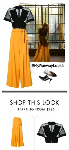 """Runway"" by patricia-dimmick on Polyvore featuring Tome, Balmain and MyRunwayLookIs"