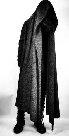 Show me what's under that cloak....