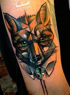 фото тату лиса (52) | 1000 идей новой татуировки
