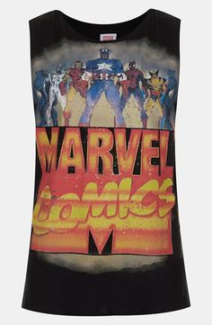 Topshop 'Super Heroes' Tank available at #Nordstrom
