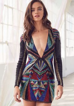 Shop our latest styles of Looks We Love: Dressing for the Holidays at REVOLVE with free day shipping and returns, 30 day price match guarantee. Dress For Success, Embellished Dress, Runway, Dress Up, Street Style, Style Inspiration, Bowie, Fabric, Knit Fashion